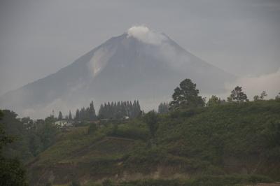 Mt Sinabung Static